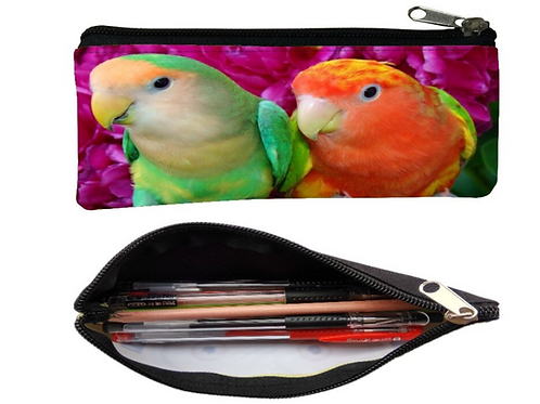 Papegaai print portemonnee