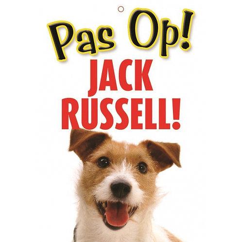 Honden waakbord pas op Jack Russell