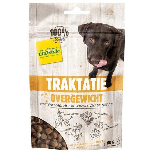 Ecostyle overgewicht traktatie - Hondensnacks - 80 g