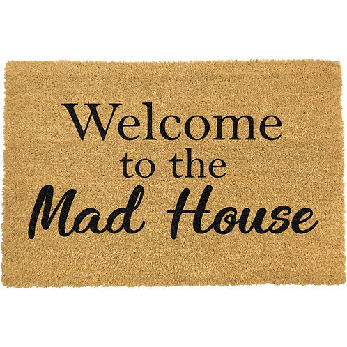 Deurmat - Welcome to the Mad House