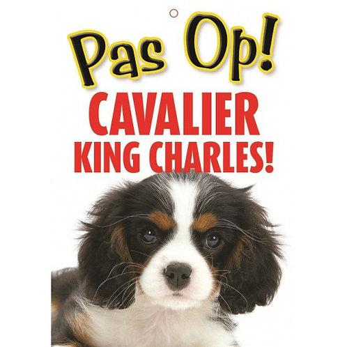 Honden waakbord pas op Cavalier King Charles