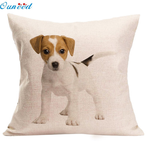 Jack Russell puppy print kussenhoes