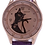Thumbnail: Horloge met kat afbeelding (silhouet)
