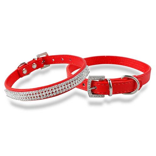 Rhinestone halsbanden voor hond en kat