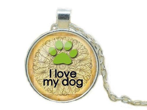 Ketting I love my dog