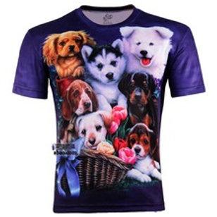 Veel honden t-shirt
