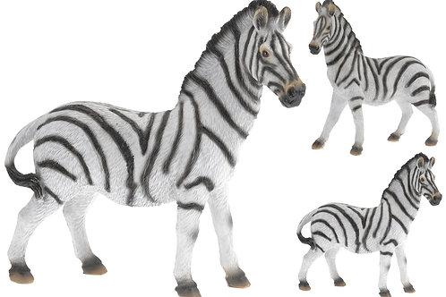 Poly zebra staand