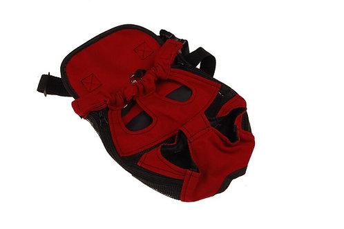 Rode hond draagtas