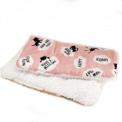 Zachte tweezijdig deken voor hond, kat, konijn…