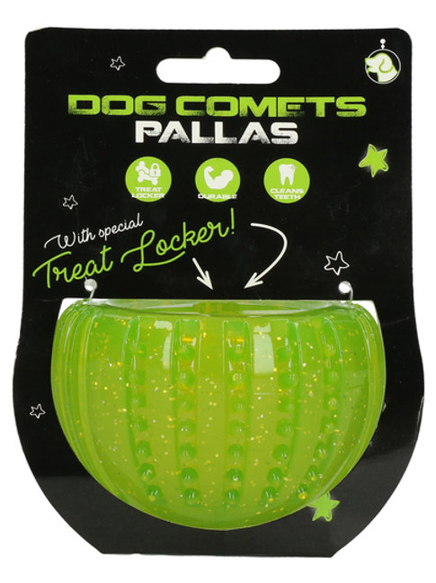 Dog Comets Pallas with Treat Locker Groen