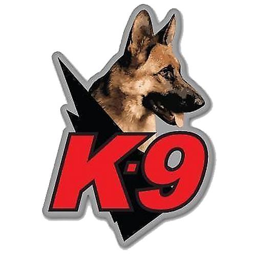 K-9 hond auto sticker