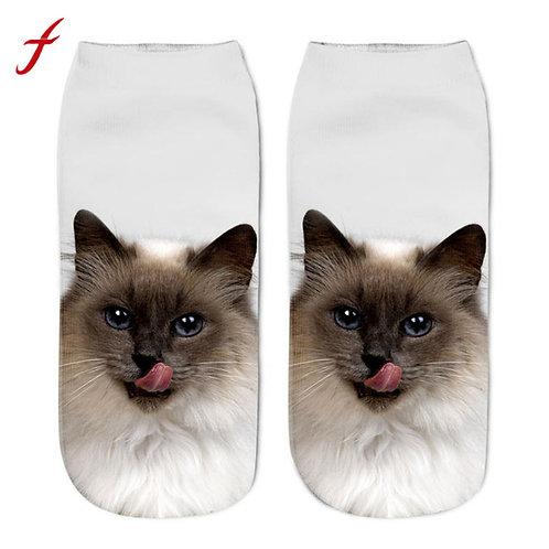 Heilige Birmaan print sokken