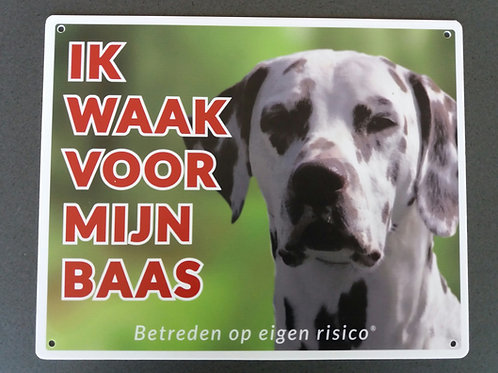Waakbord hond - Dalmatiërs