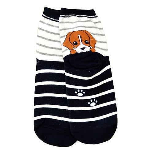 Grappige Beagle print sokken