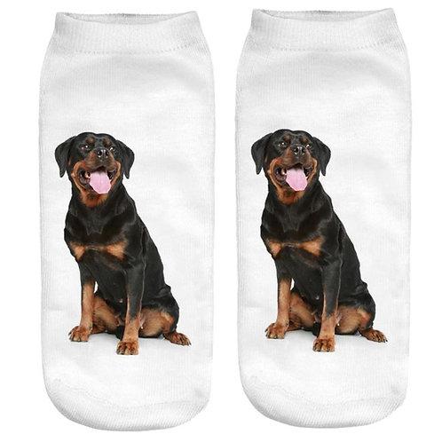 Rottweiler print sokken