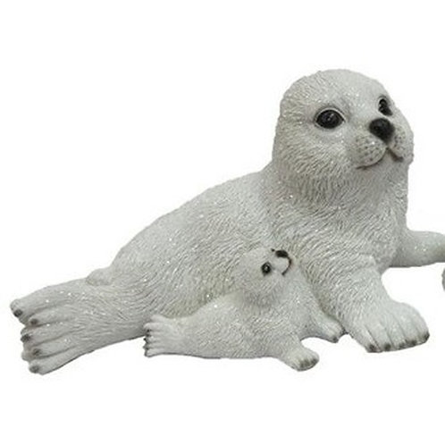 Poly zeehond met klein