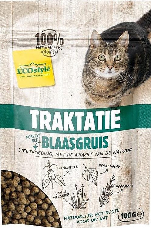 Ecostyle blaasgruis traktatie - kattensnacks - 100 gr