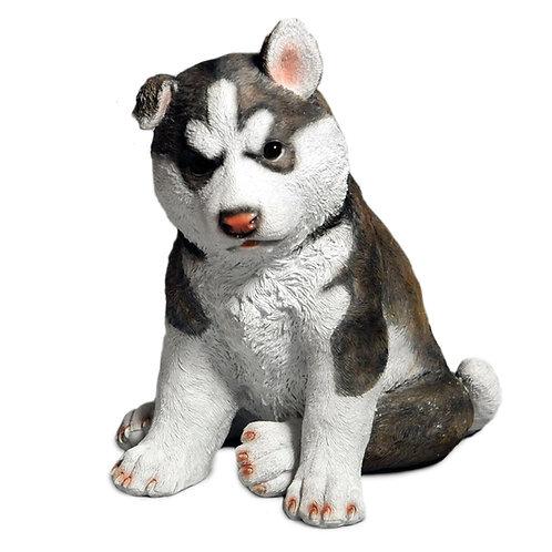 Husky pup beeldje - groot