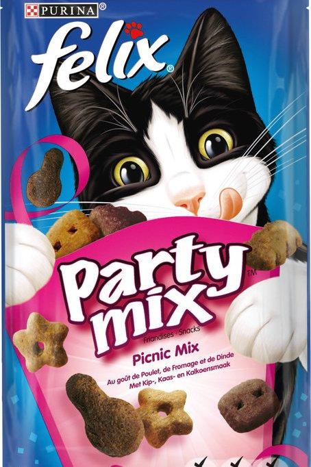 Kattensnack FelixParty Mix Snacks - Picnic Mix - 60 g