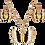 Thumbnail: Vlinders sieraden set