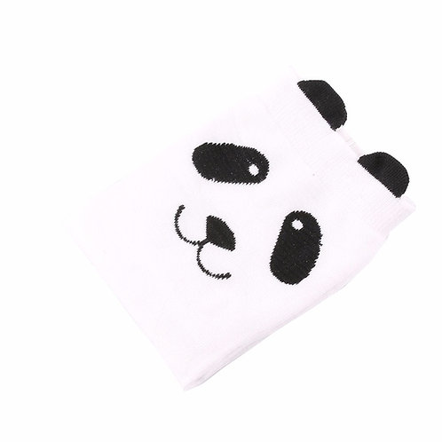 Panda witte sokken
