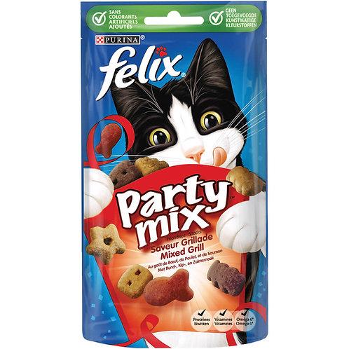 Kattensnack Felix Party Mix Mixed Grill - 60 g