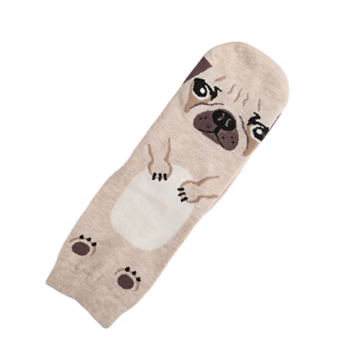 Hond print sokken