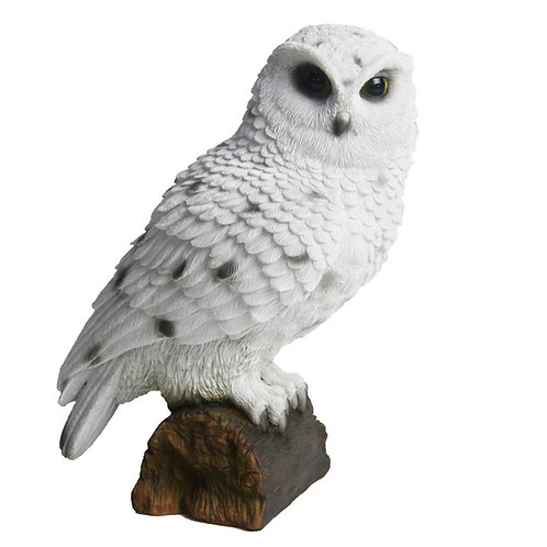 Sneeuwuil poly beeldje