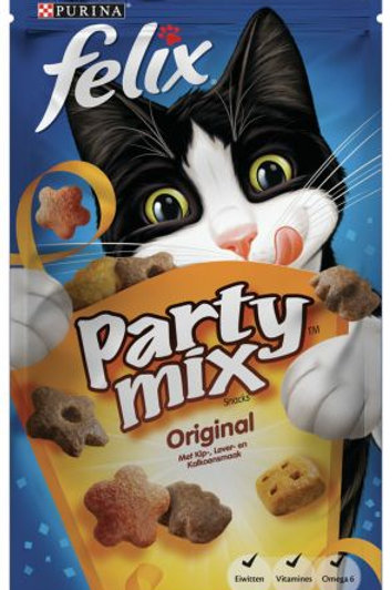 Kattensnack Felix Party Mix Original - Vlees 60 g