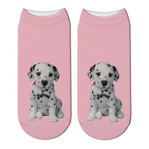 Dalmatiërs puppy print sokken