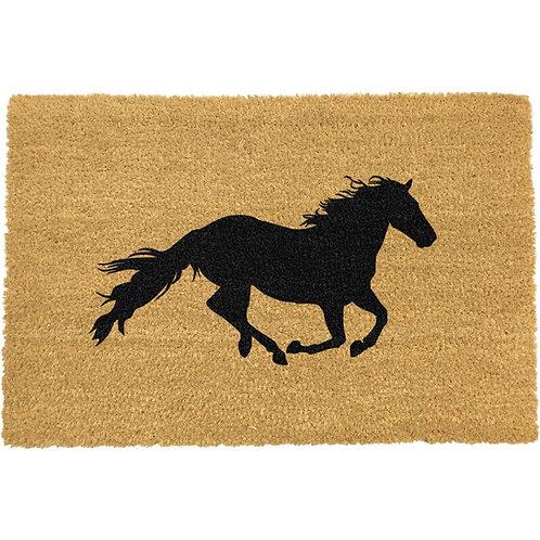 Paard deurmat