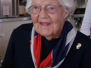 Betty Somppi – 101 Years – Going on Flight 9