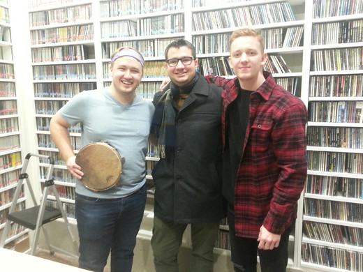 with Jansen Leggett and Brandon Cown on Spokane Public Radio