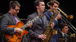 with Max Bennett, Jonathan Bumous and the Whitworth Jazz Ensemble