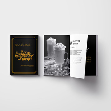 Harry Potter Cocktail Recipe Book