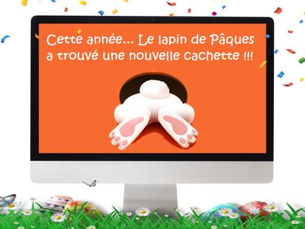 Chasse aux œufs virtuelle de Pâques 2021