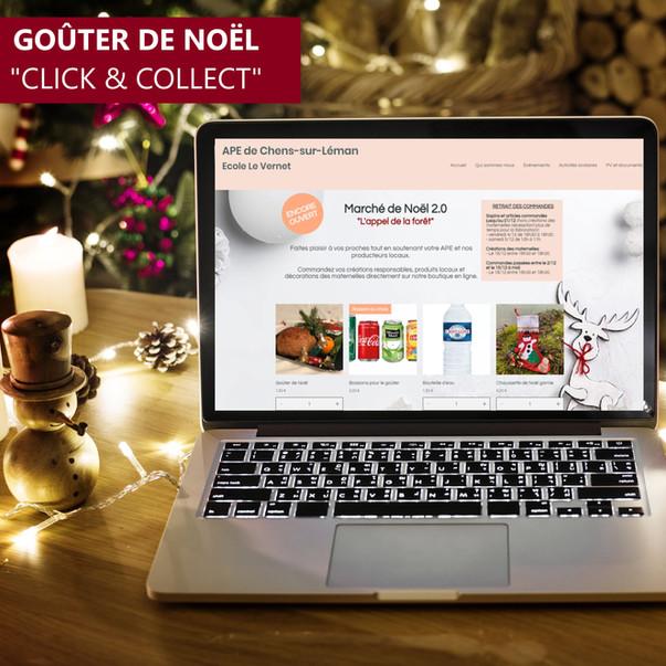 """Goûter de Noël """"Click & Collect"""""""