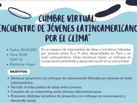 """Investigadores CICE participan en la cumbre """"Encuentro de jóvenes latinoamericanos por el clima"""""""