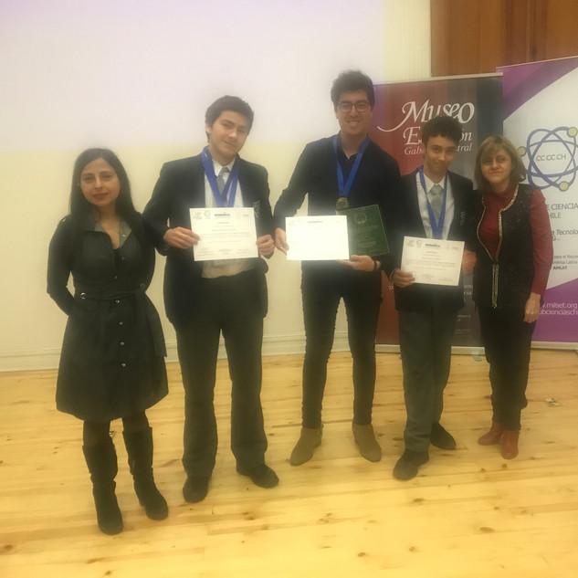 Ganadores Foro Internacional de Ciencias