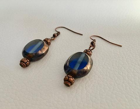 Small Lamp Glass Earrings