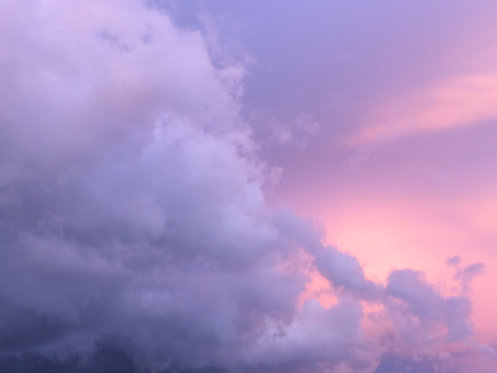 Pink Clouds Photography Print