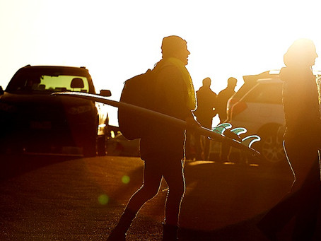 How To Survive a Dawny Session. How to Get Out of Bed Early For Surfing