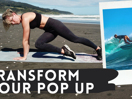 The Ultimate Surfing Pop Up Workout