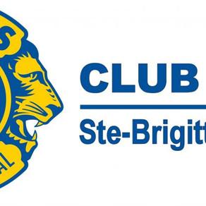 Le Club de soccer SBDL tient à remercier le Club Lions de Sainte-Brigitte-de-Laval