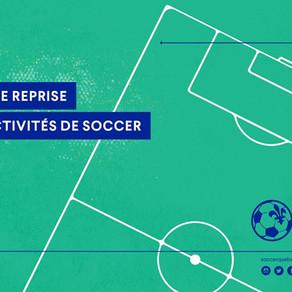 Plan de Reprise des Activités de Soccer