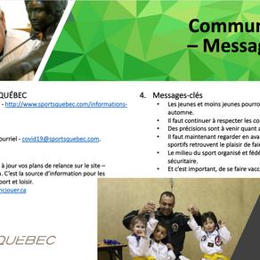 SportsQuebéc - Communication