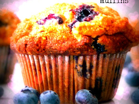 Sorta Blueberry Muffins