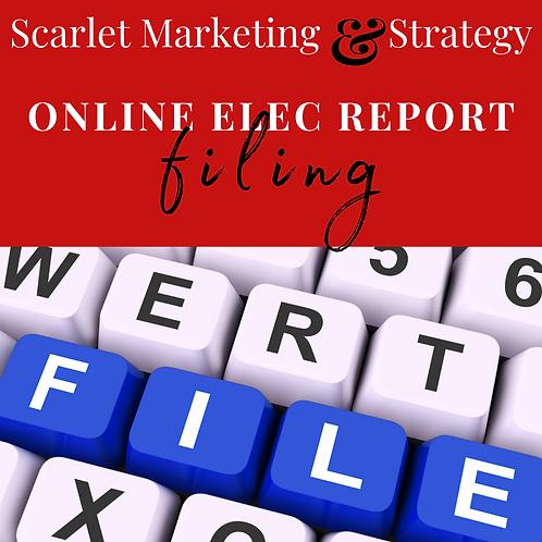 Online ELEC Reports Filing
