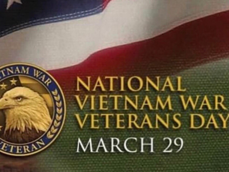 Thank you, Vietnam Vets!
