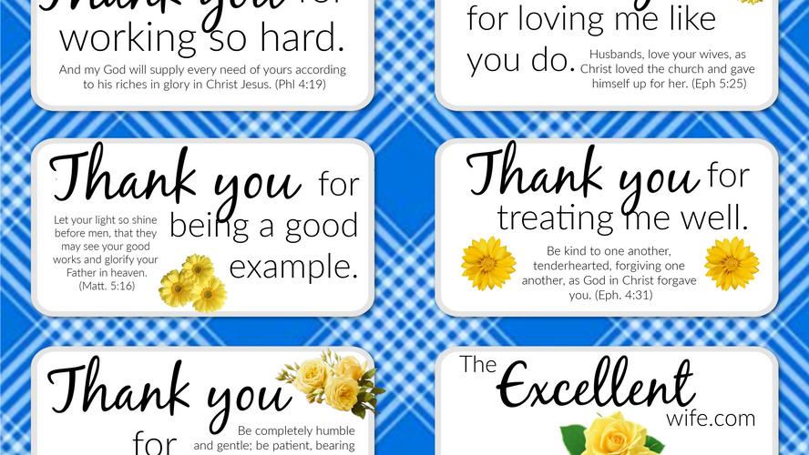 Encourage Your Husband | Free Printable